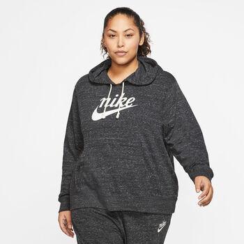 Nike Sportswear Gym Vintage Hættetrøje (Plus Size) Damer Sort