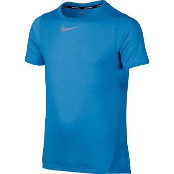 Nike Dry Top Tailwind SS Blå