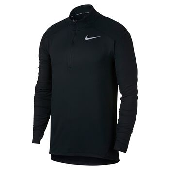 Nike Dry Running Top Herrer Sort