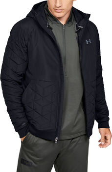 Under Armour ColdGear Reactor Performance Hybrid Jakke Herrer Sort