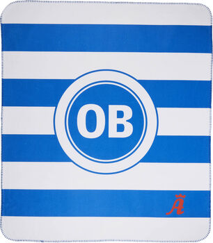 Odense Boldklub OB Fleecetæppe