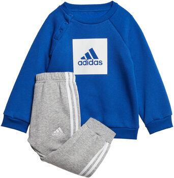 adidas I 3SLOGO JOG FL Joggingsæt Junior Grå