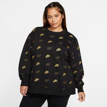 Nike Sportswear Fleece Crew (Plus Size) Damer