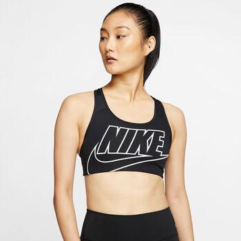 Nike Medium-support sports bh Damer Sort