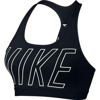 Nike Pro Classic Logo Read Bra Kvinder Sort