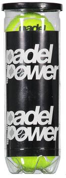 PadelPower Padel Tennisbolde, 3 pak