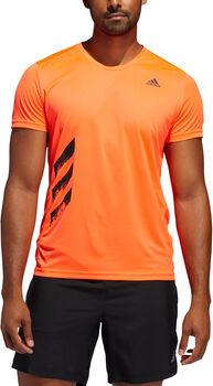 ADIDAS Run It 3-Stripes PB T-shirt Herrer
