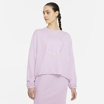Nike Sportswear Icon Clash sweatshirt Damer Pink