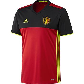 ADIDAS Belgien hjemmebanetrøje Replica Rød
