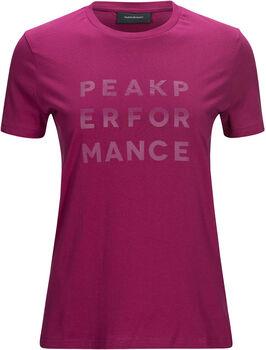 Peak Performance Ground Tee 1 Damer