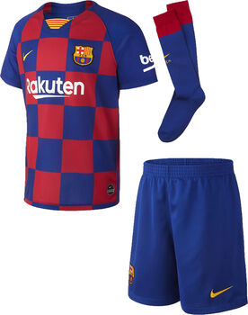 Nike  FC Barcelona 2019/20 Home Little Kids' Soccer Kit