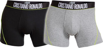 JBS CR7 Fashion Trunk 2-Pack Herrer Grå