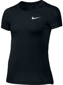 Nike Pro Cool Top SS Sort