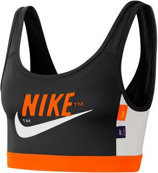 Nike Swoosh Icon Clash Medium-Support Sports BH Damer Sort
