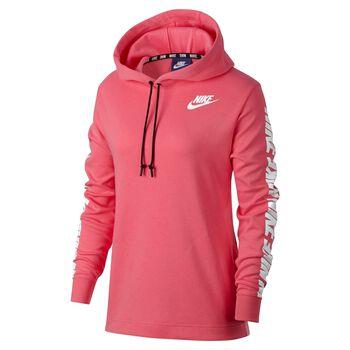 Nike Sportswear Advance 15 Hoodie Damer Pink