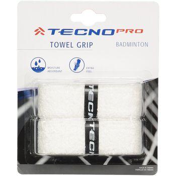 TECNOPRO Towel Grip - 2stk Hvid