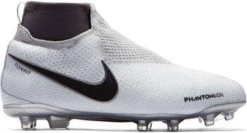 Nike JR Phantom Vision Elite Dynamic Fit FG Grå