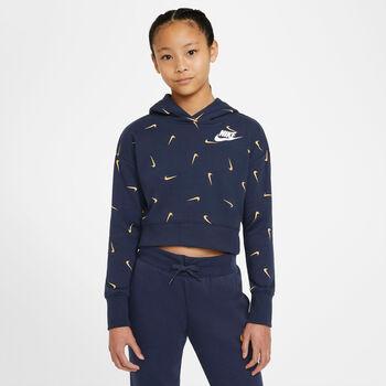 Nike Sportswear Cropped French Terry Hættetrøje