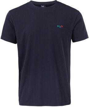 H2O Logo Tee Herrer Blå