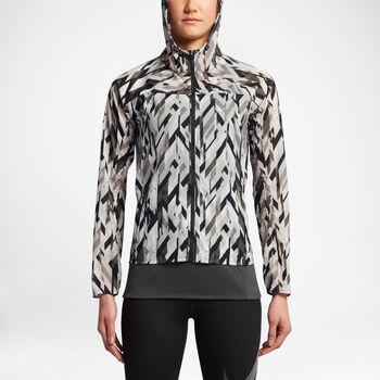 Nike Impossbily Lightt Jacket Hood Print Damer Multifarvet