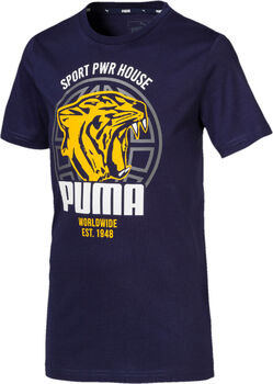 Puma Boys' Alpha Graphic Tee