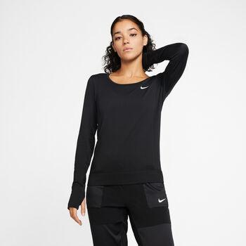 Nike Infinite Long-Sleeve Running Top Damer Sort