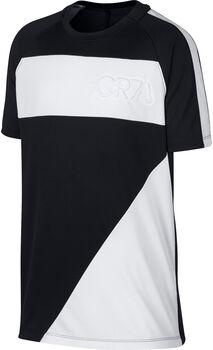 Nike CR7 Dry Top SS Drenge Sort