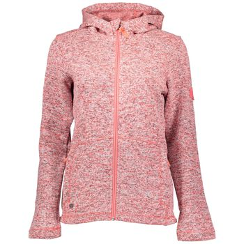 McKINLEY Liberty Knit Fleece Jacket Damer Pink