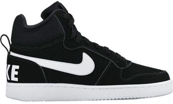 Nike Court Borough Mid Damer Sort