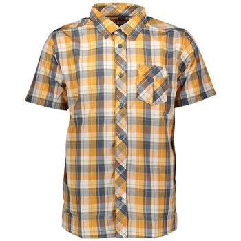 McKINLEY Anza SS Shirt Herrer Multifarvet