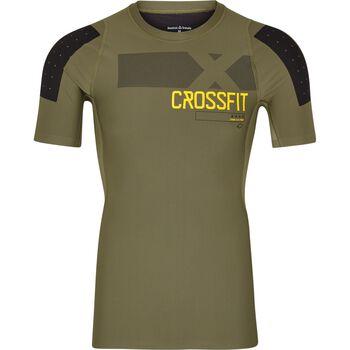 Reebok Rcf S/S Comp Shirt Herrer Grøn