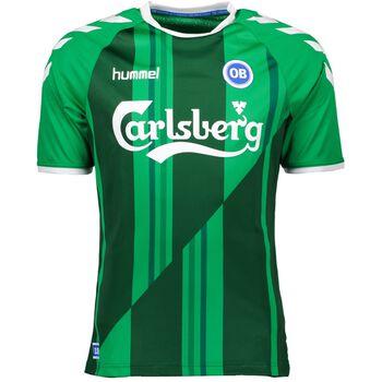 Hummel OB Away Fodbold Jersey 16-17- Unisex Grøn