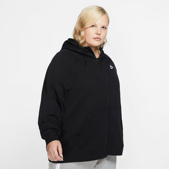 Nike Sportswear Essential Hættetrøje (Plus Size) Damer Sort