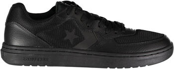 Converse Rival Leather Herrer Sort