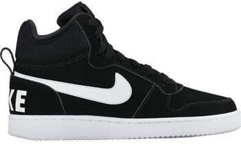 Nike Court Borough Mid Damer Sort