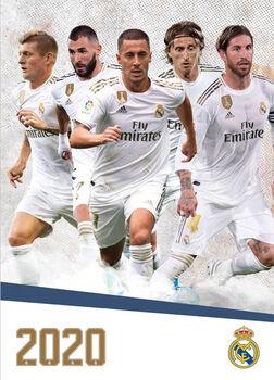 Scandecor Fodbold Kalender 2020 - Real Madrid