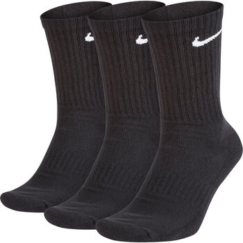 Nike Everyday Cushioned Training Crew Socks (3 Par) Sort