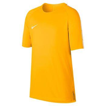 Nike Breathe Squad Football Top Orange