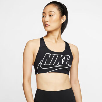 Nike Medium-Support Sports BH Damer Sort