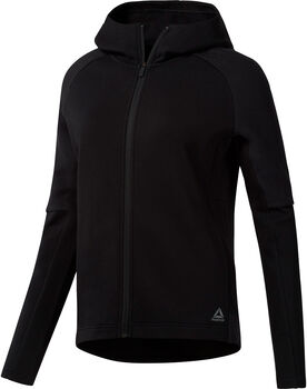 Reebok Quik Cotten Full Zip Hoody Damer