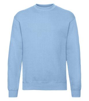 Fruit of the Loom Classic set in sweatshirt turkis