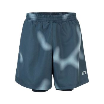 Newline Imotion Printed 2-Lay Shorts Herrer Blå
