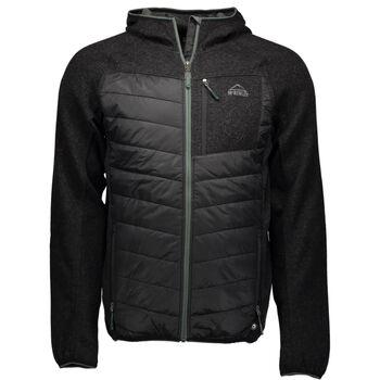McKINLEY Waikari Hybrid Jacket Herrer Sort