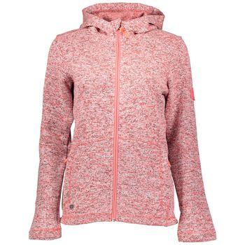 McKINLEY Liberty Knit Fleece Jacket Damer Pink