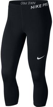 Nike Pro Capri Damer Sort