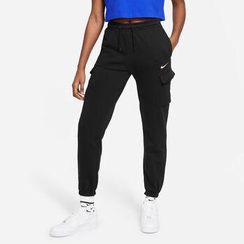 Nike Sportswear Cargo Loose bukser Damer Sort