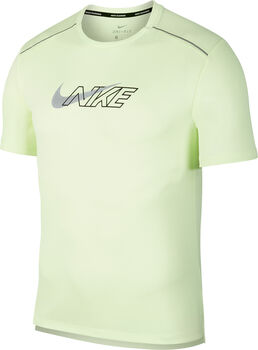 Nike Dri-FIT Miler Short-Sleeve Flash Running Top Herrer