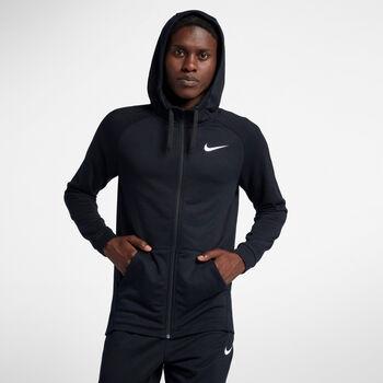 Nike Dry Fleece Hoodie Herrer Sort
