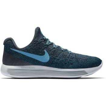 Nike Lunarepic Low Flyknit 2 Herrer Blå