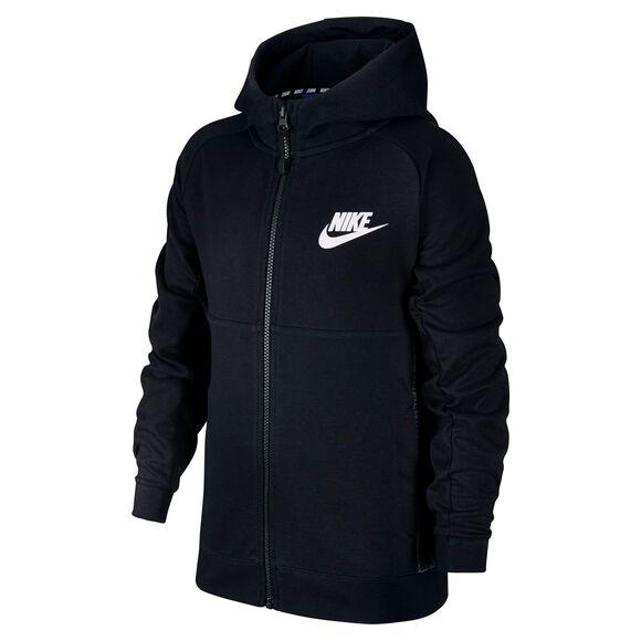 8d33571d9a5 Sort Nike Sportswear AV15 Hoodie - Børn | INTERSPORT.dk